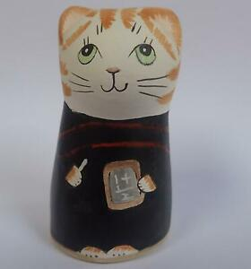 Merryfield Pottery candle snuffer trendy cat teacher ceramic ornament