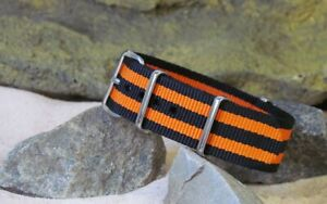 The Ballistic Nylon Strap w/ Polished Hardware By NATO Strap Co.(℠)