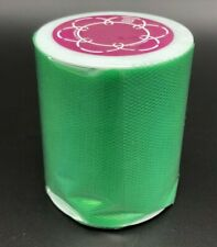 "3""X25yds Emerald Tulle Spool Wedding Bridal Party Fabric Decoration Tutu Crafts"