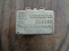 Volvo 240 740 760 780 940 Fuel System Relay 896399 3523608 1347603 898151 white