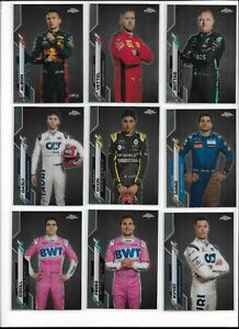 2020 Topps Chrome Formula 1 F1 Base #1-200 Pick Card Complete Your Set