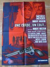 UNE CORDE UN COLT (AFFICHE CINEMA 79x56cm) MICHELE MERCIER - ROBERT HOSSEIN