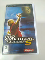 Pro Evolution Soccer 5 Konami - Set PLAYSTATION Psp Ausgabe Spanisch - 3T