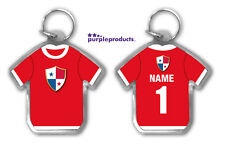 Personalised PANAMA 2018 World Cup Football Team Supporters Keyring