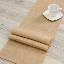 Juteband Tischläufer Tischband 10m 30cm breit Sackleinen Jute Natur Dekoration