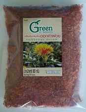 Dried SAFFLOWER Saffron alazor Thai Herb Healthy Tea Food Coloring 80g (2.82oz)