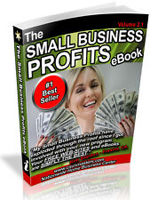 THE SMALL BUSINESS PROFITS EBOOK PDF EBOOK FREE SHIPPING RESALE RIGHTS