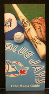 1983 Toronto Blue Jays Official Media Press Guide, 120 Pages of Facts & Fun!