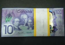 Canada 150th Anniversary $10 GEM UNC new polymer paper money Bank Note bill