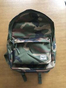 Herschel Classic Backpack In Woodland Camo