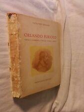 ORLANDO FURIOSO Ludovico Ariosto Natalino Sapegno Principato Editore 1963 di da