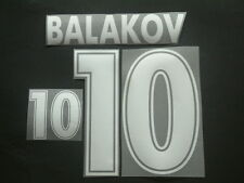 "BALAKOV NOME+NUMERO BULGARIA AWAY OFFICIAL ""WORLD CUP 98 "" NAMESET"