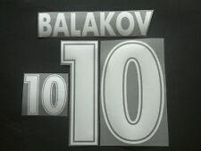 """BALAKOV NOME+NUMERO BULGARIA AWAY OFFICIAL """"WORLD CUP 98 """" NAMESET"""
