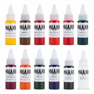 Dynamic Color Tattoo Ink Set 2 - All Colors 1oz