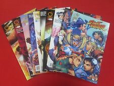 BACKSTOCK BLOW OUT -  STREET FIGHTER LOT OF 10 ALL DIFFERENT COMICS