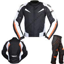 Combinaisons de motocyclette noirs textile taille M