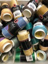 Maxi-Lock Serger Thread, 3,000 Yard Cones, 100% Polyester, Closeout