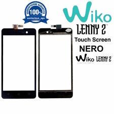 Touch Screen Display Vetrino Vetro per Wiko Lenny 2 Nero Originale