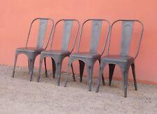 Quattro sedie st.Tolix dal design vintage, impilabili, '900!
