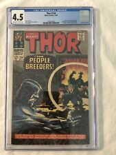 Thor #134 CGC 4.5 First Appearance High Evolutionary Guardians of the Galaxy MCU
