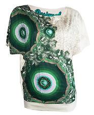 DESIGUAL t-shirt Taille S 36 * NOUVEAU * TS Olivia