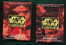 Star Wars CCG Death Star II Starters SEALED GEM MINT CONDITION  2 decks L&D