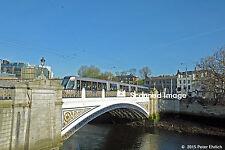 Original Photograph: Dublin, Ireland LUAS 4012 at Heuston Bridge OB (5 x 7)