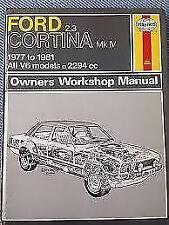 Ford Haynes 1980 Car Service & Repair Manuals