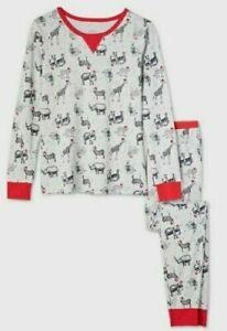 Wondershop Holiday Safari Animal Print Pajama Sleep Set Men's S M L XL 2XB 3XB