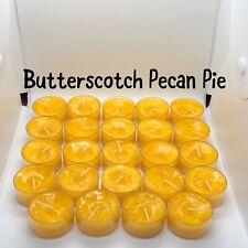 2 Dz Butterscotch Pecan Pie Partylite/Kate's Seconds Tealights