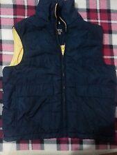 lotto 453 smanicato piumino giacca bimbo bambino 8 anni blukids