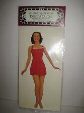 Deanna Durbin Celebrity Paper Dolls