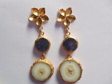 Druzy Solar Earring, Druzy Agate Earring, Druzy Chandelier Earring, Jewelry