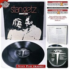 STAN GETZ Didn't We VERVE jazz classic LP