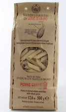 Morelli Tuscan Penne Rigate with  Wheat Germ - 3 Packs x 500gr (17.6oz Each)