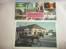 (2) Vtg. New Orleans Cafe Du Monde & City Sites Colourpictures Placemats
