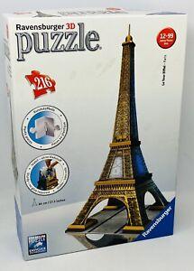 Ravensburger 3D Puzzle- Eiffel Tower - Paris - 216 Pieces