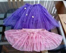 Age 4 - 7 Fancy Dress / Ballet Tutu's x 2 Years Purple and / or  Pink
