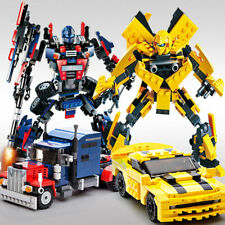 New Transformers Figure For Lego Series Building Action Set Robot Truck Model