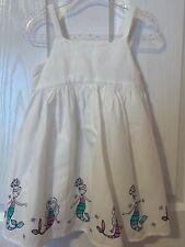 Gymboree mermaid dress size 2T for girls