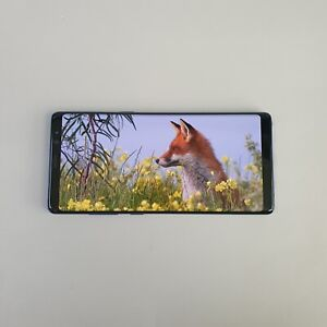 Samsung Galaxy Note8 Blue SM-N950N 64GB Unlocked Single sim Screen Burn-in