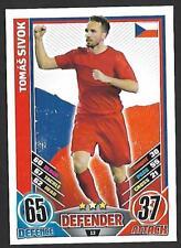 #12 TOPPS - MATCH ATTAX CARD GAME  - ENGLAND 2012 - TOMAS SIVOK - CZECH REPUBLIC
