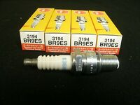 New NGK Spark Plugs (4 Count) BR9ES / 3194 Solid Plug Snowmobile ATV Motorcycle