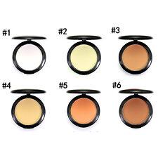 Matt Kompaktpuder Puder Make up Gesicht-Puder Pressed Compact Powder Farben NEU