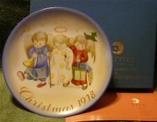 """Heavenly Trio"" Hummel Collector Plate By Sister Berta Hummel"