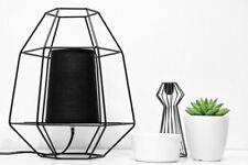 KONSIMO - MERLI Tischlampe Tischleuchte Leuchte skandinavisch Metall Stoff LED