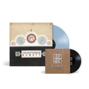 "Frightened Rabbit The Winter Of Mixed Drinks Ltd Edition BLUE Vinyl LP W. 7"" New"