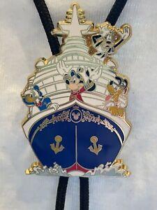 Disney Cast Exclusive Cruise Line Lanyard Mickey, Donald, Pluto, Goofy & Boat