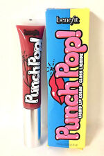BENEFIT - PUNCH POP! LIQUID LIP COLOR - CHERRY, 0.23 FL. OZ. BOXED