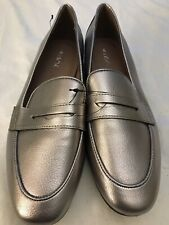 Ladies UK size 5 / EU38 bronze slip-on shoes by NEXT *NEW*
